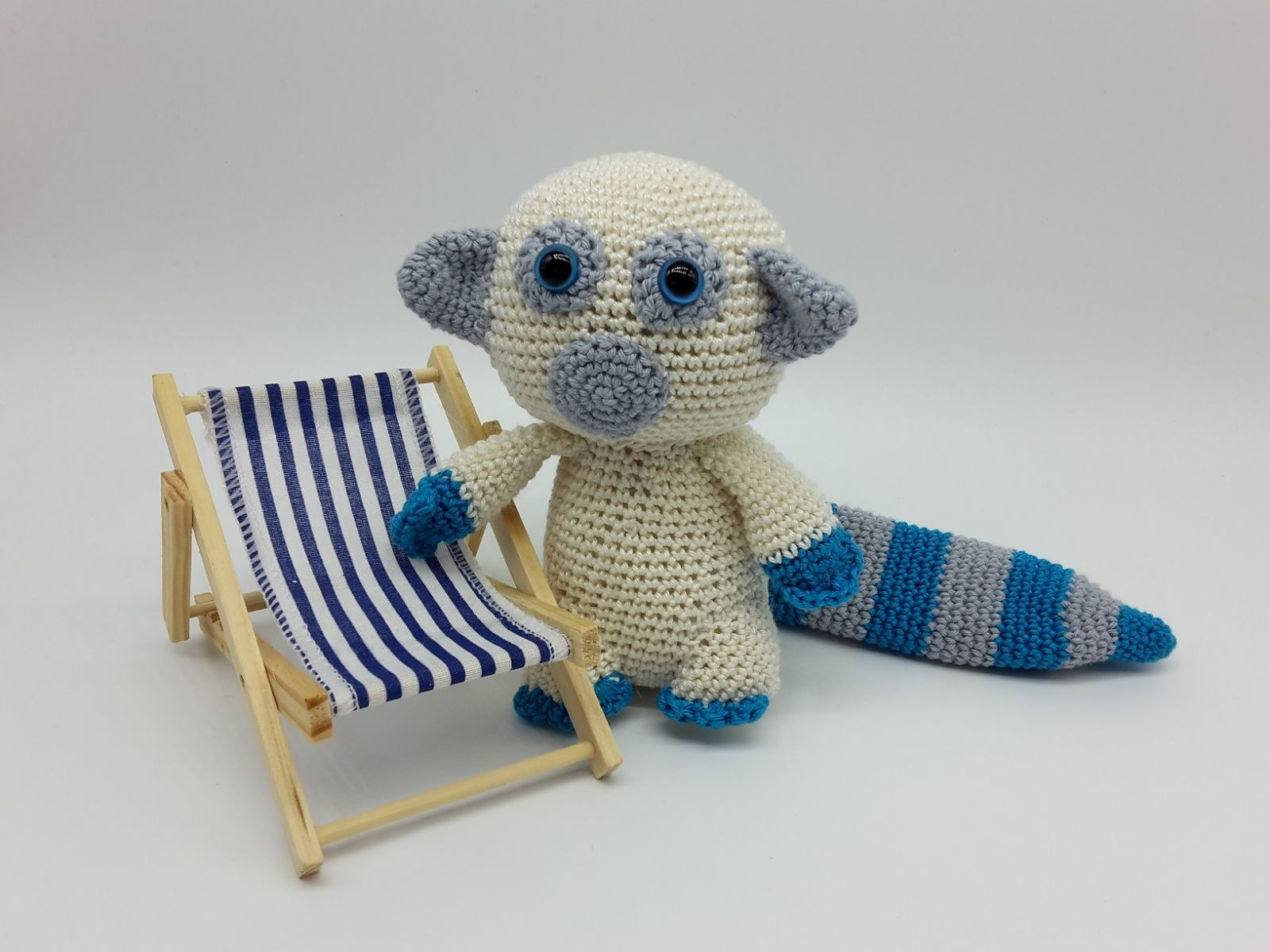 Der kleine Lemur Oskar- Häkelanleitung