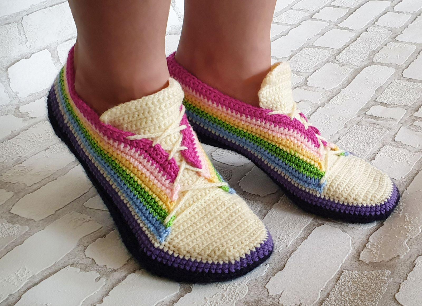 Free Crochet Pattern Sneakers