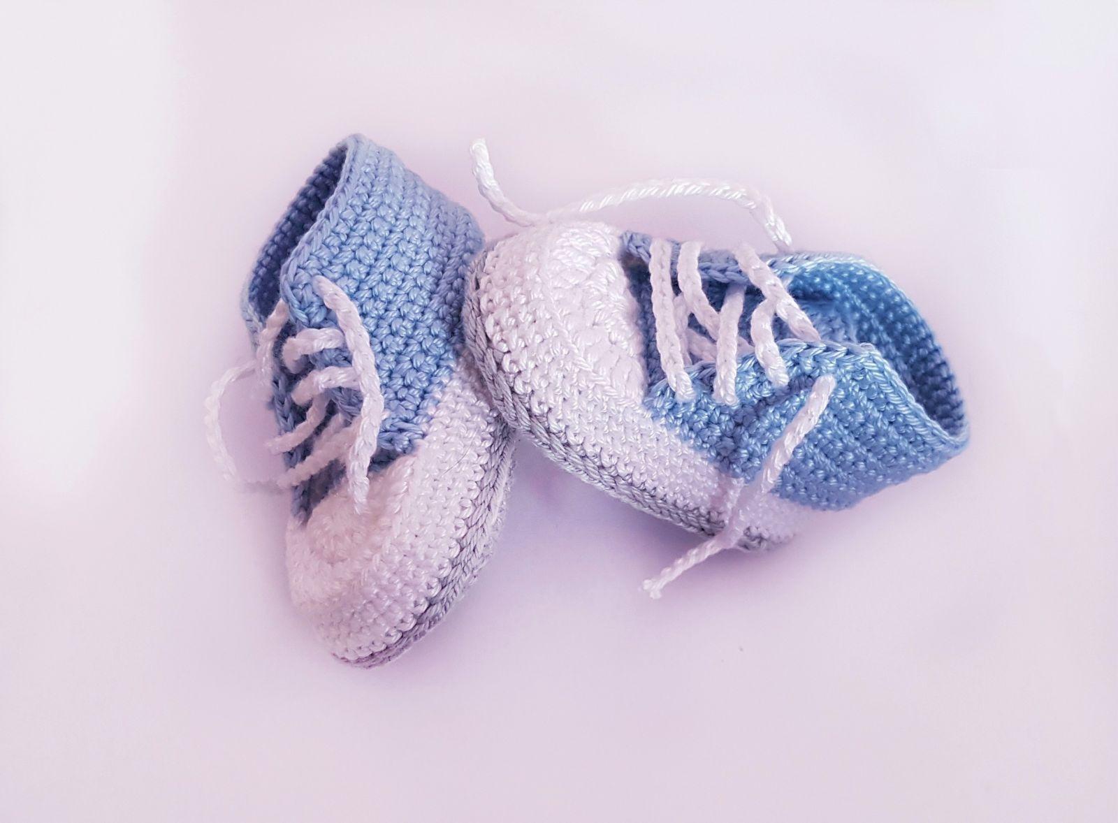 Kostenlose Häkelanleitung Babyschuhe Für Neugeborene