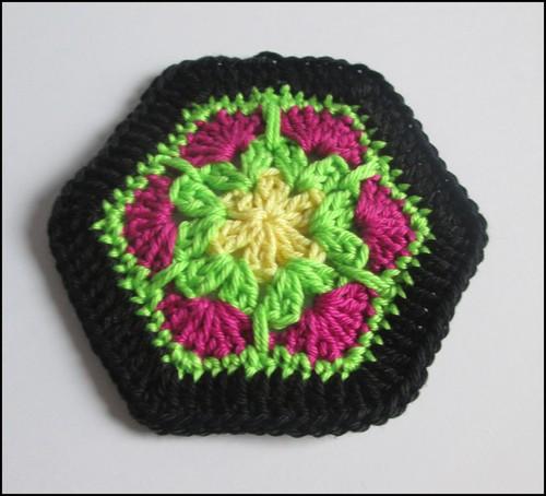 Trendy African Flower Häkeln