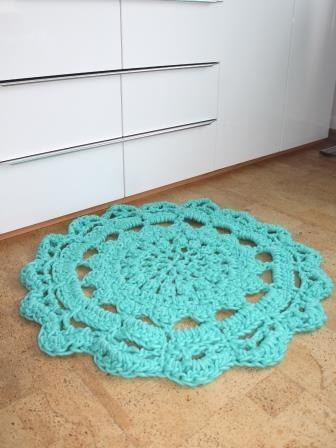 Kostenlose Anleitung Für Einen Vorleger Teppich Mein Zuhause In 2