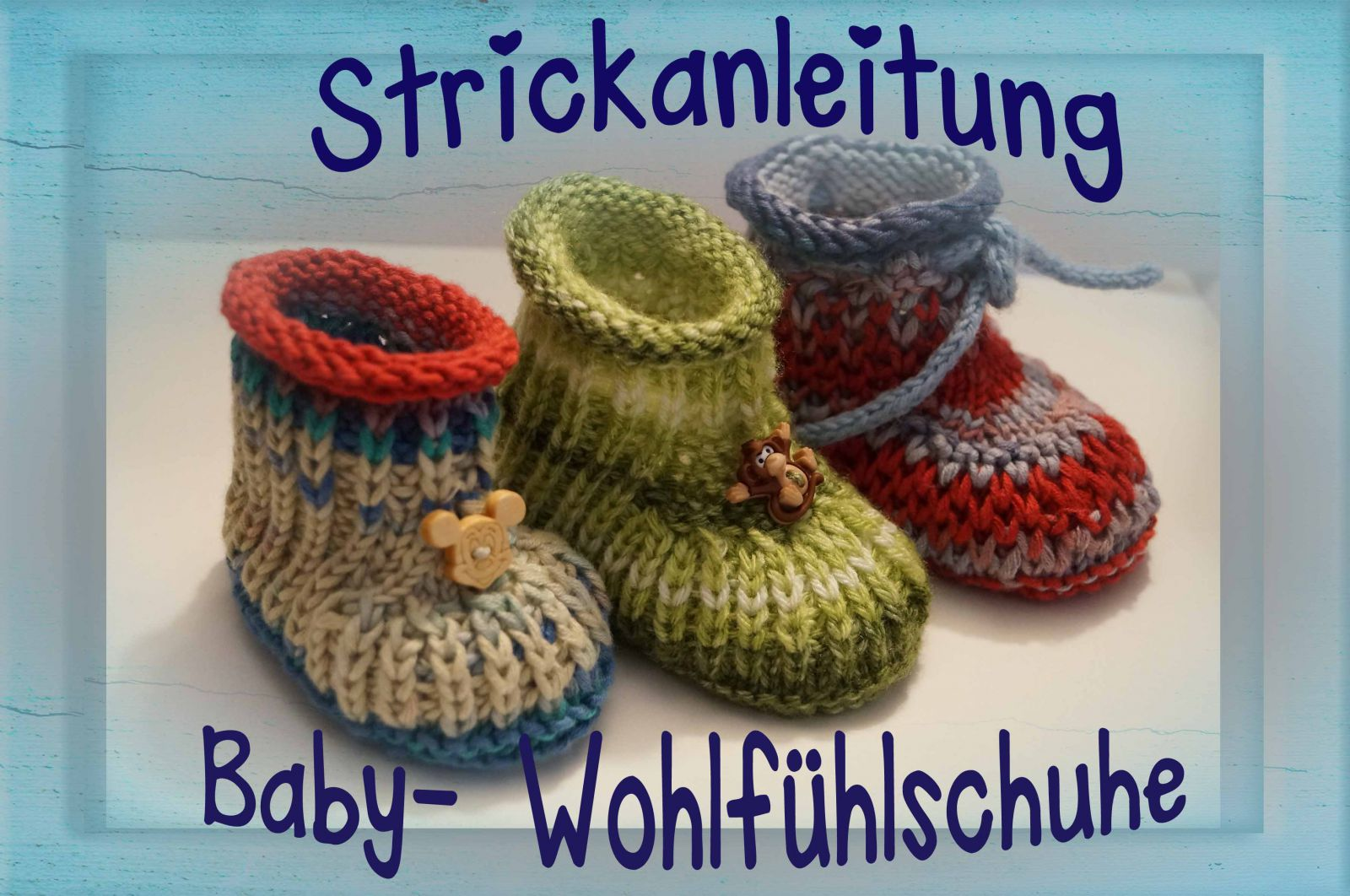 anleitungen f r niedliche babyschuhe gestrickt geh kelt. Black Bedroom Furniture Sets. Home Design Ideas