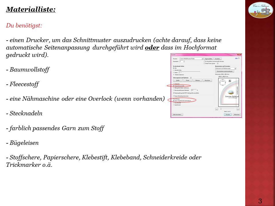 Kostenlose Anleitung mit Schnittmuster für eine Nikolaus Socke