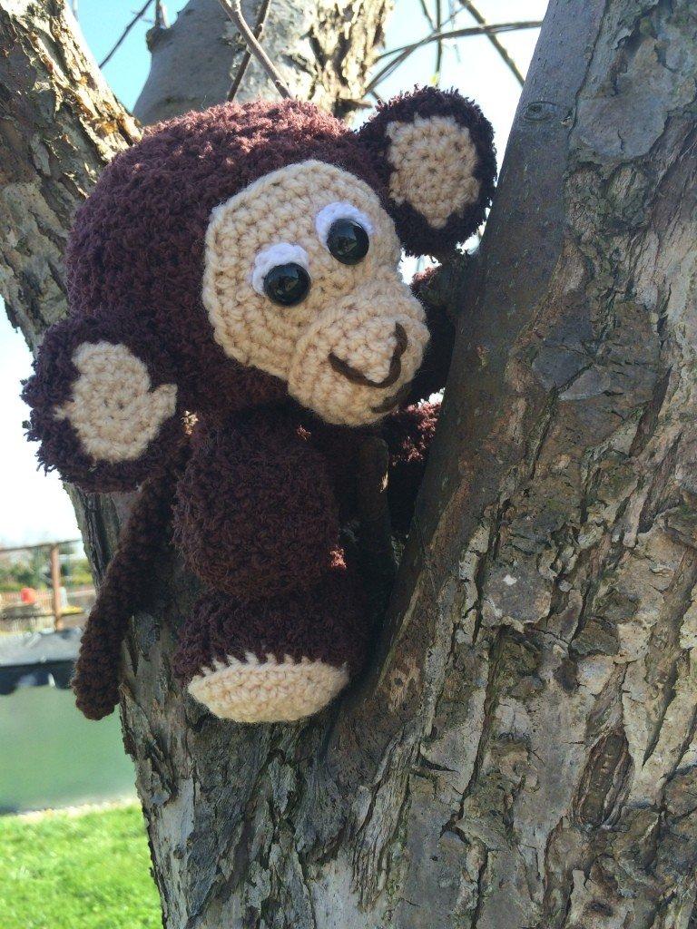Kostenlose Häkelanleitung Kleiner Affe
