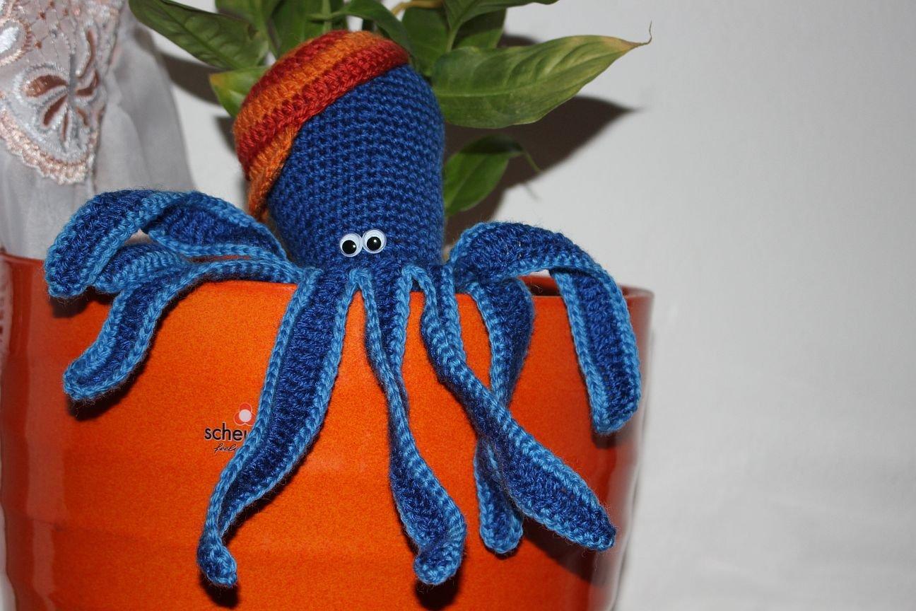 Crochet Octopus - Pattern credit to @vanessamooncie More   Kraken ...   864x1296