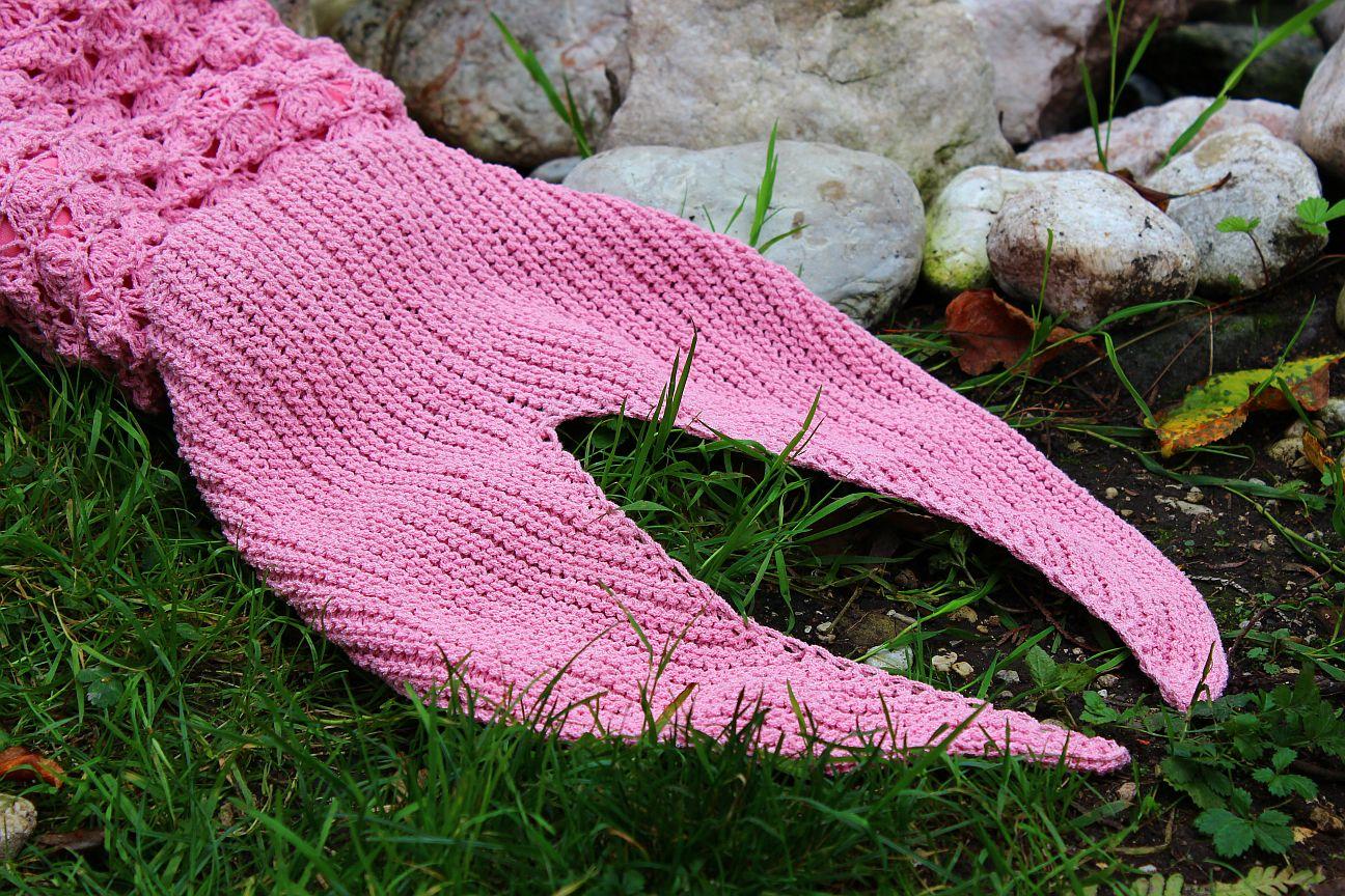 Meerjungfrauen Decke Kostenlose Strickanleitung