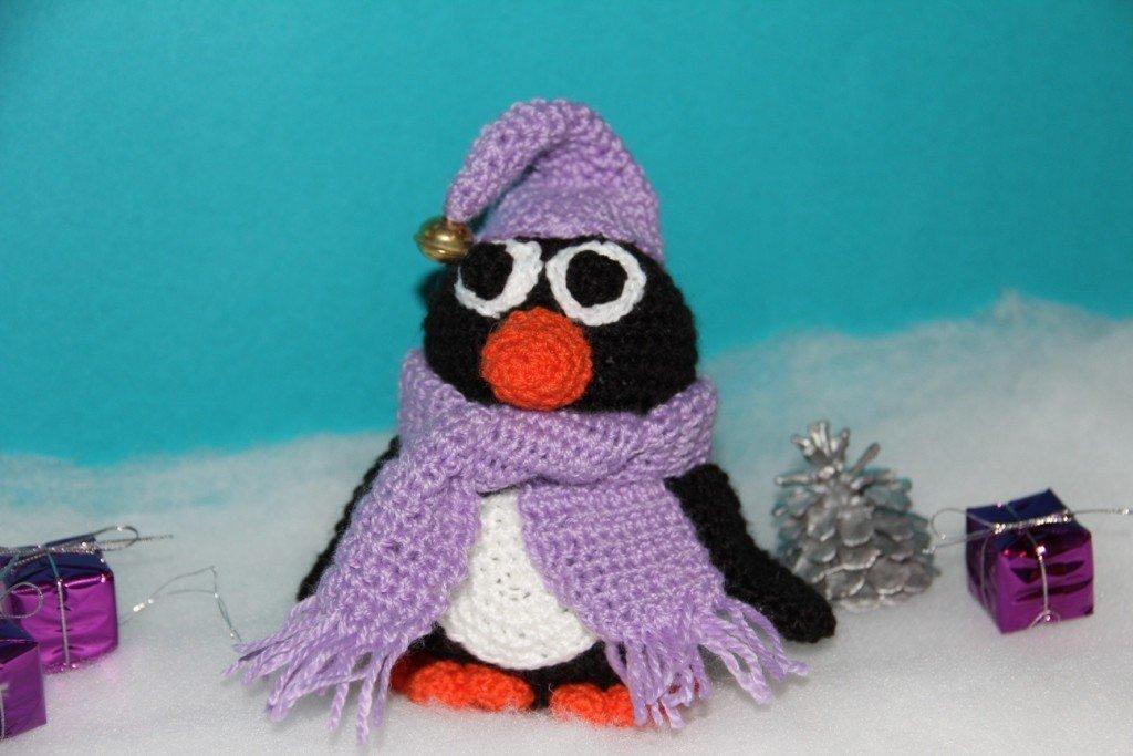 Kostenlose Häkelanleitung - Kleiner Pinguin