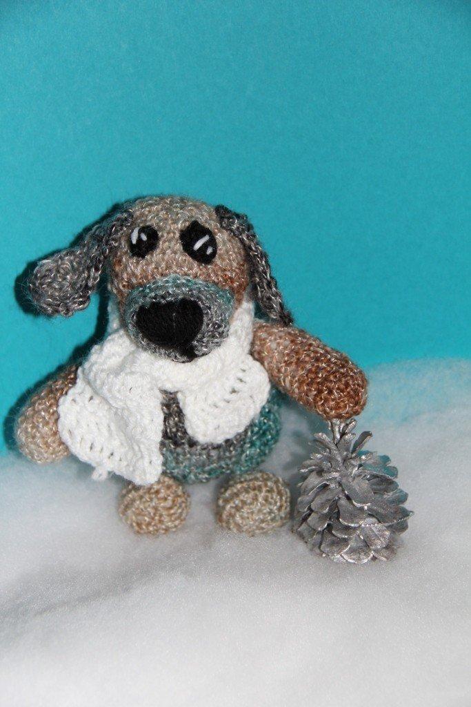 Fancy Kleiner Hund Häkelanleitungen Model - Decke Stricken Muster ...