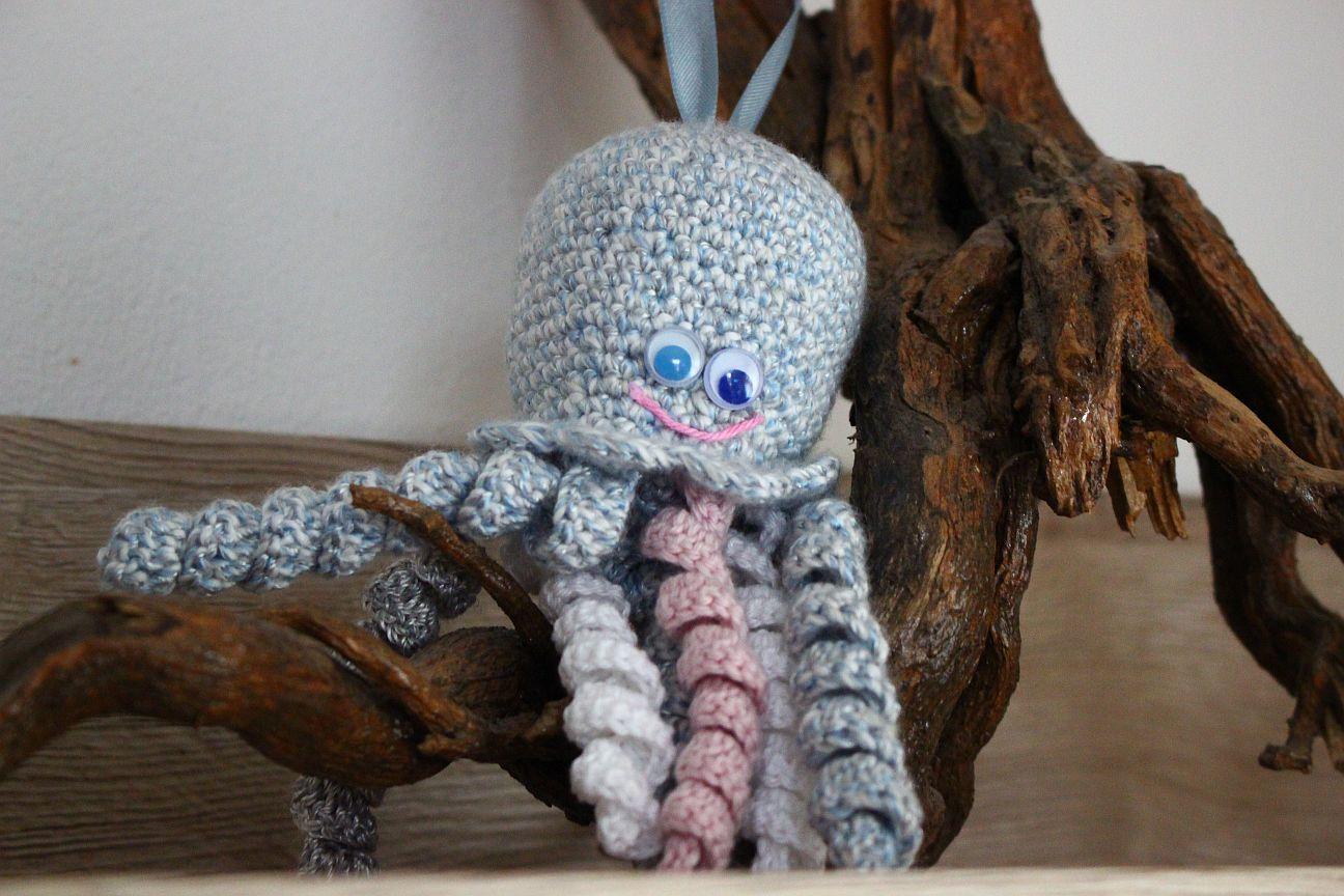 Kostenlose Häkelanleitung Oktopus