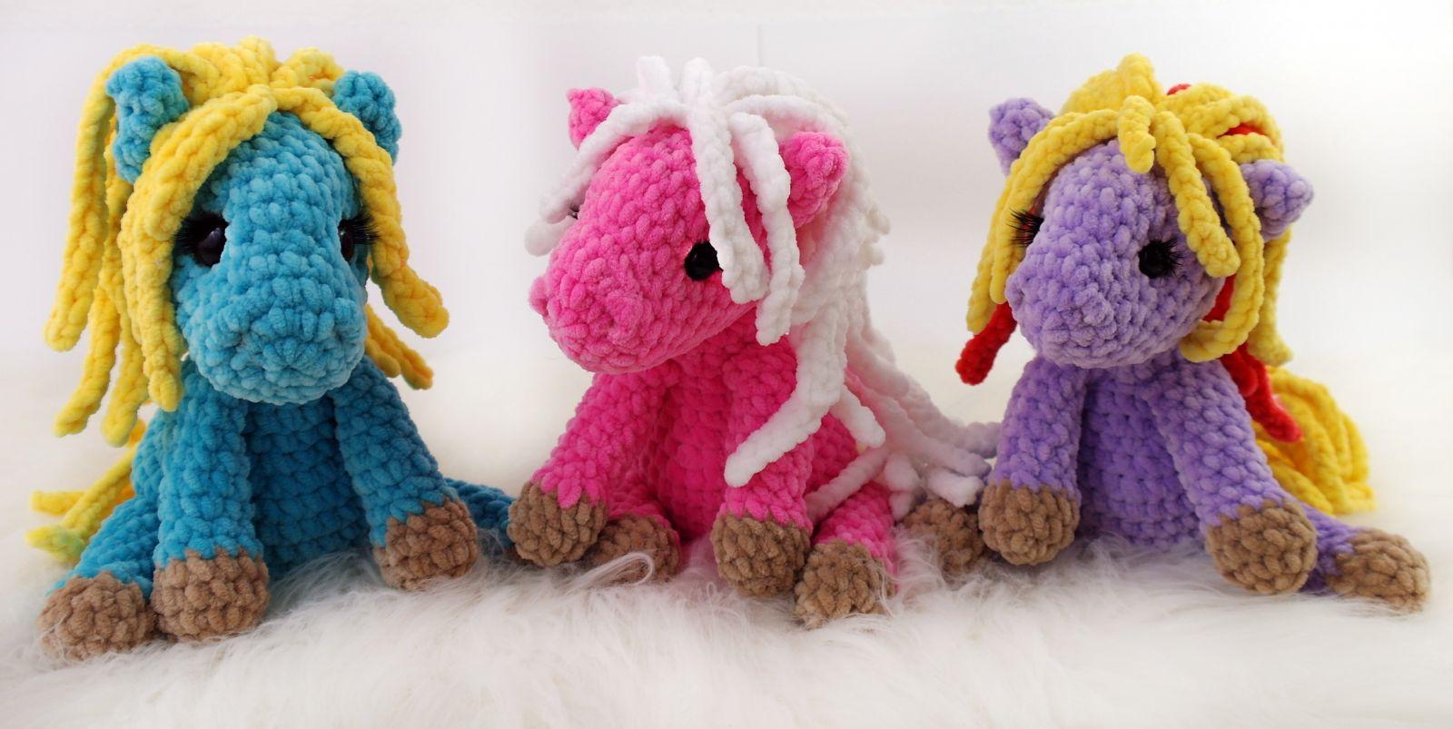 Crochet Pattern Little Horse