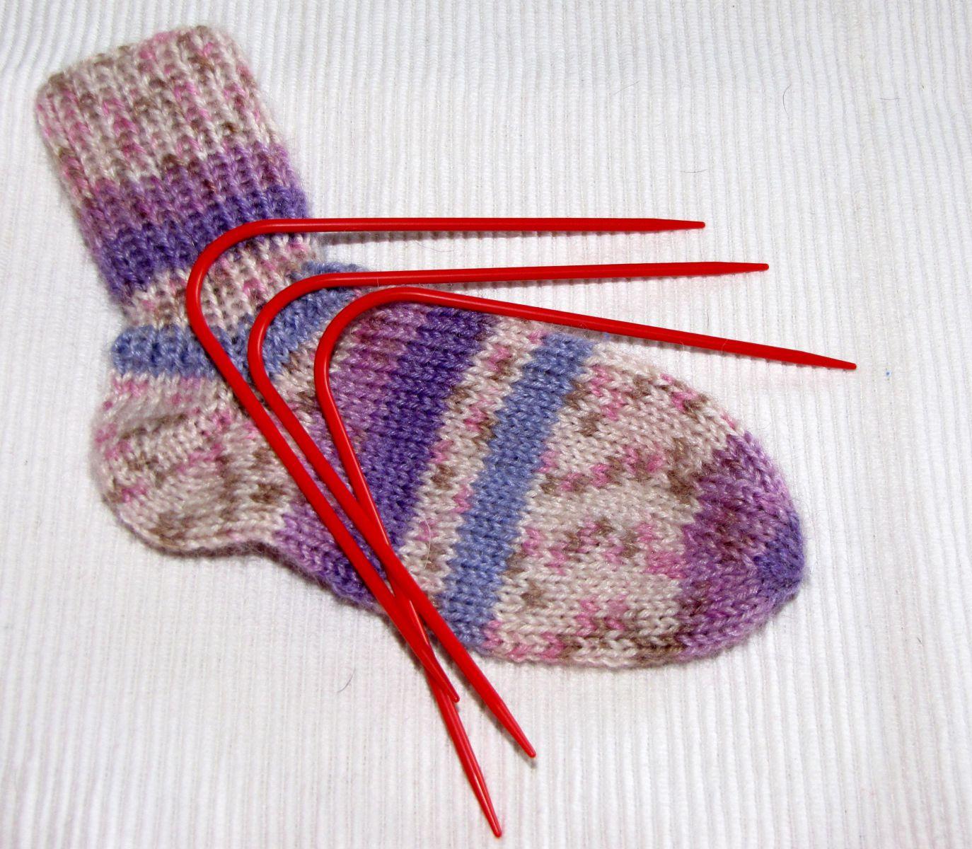 Socken Stricken Mit Dem