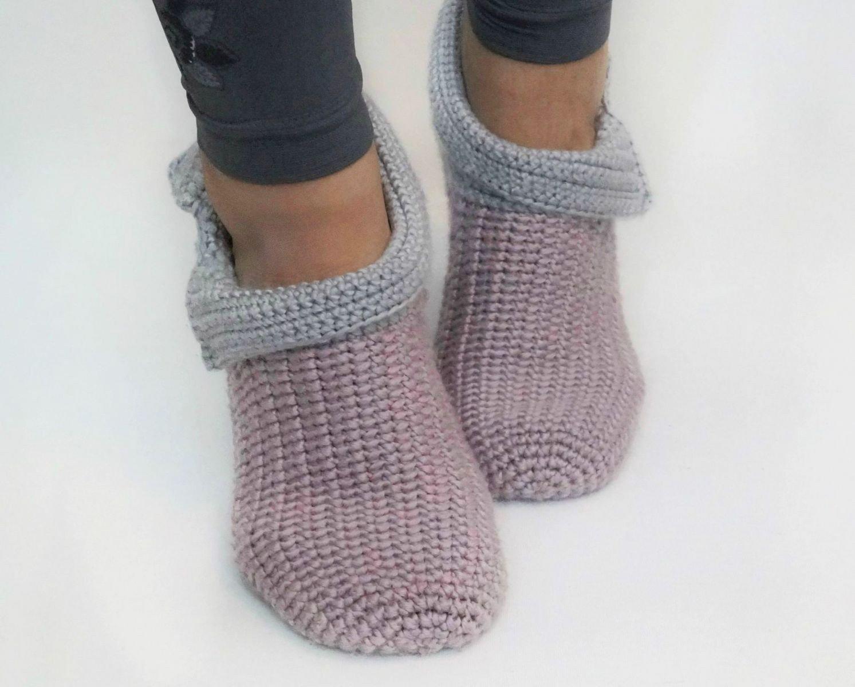 Free Crochet Pattern Slippers