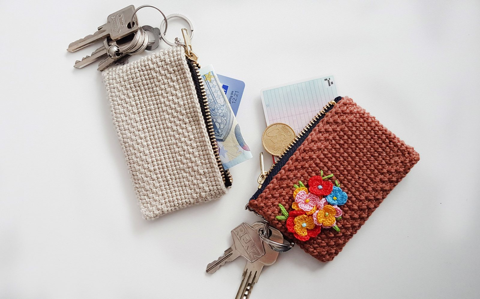 Free crochet pattern key case