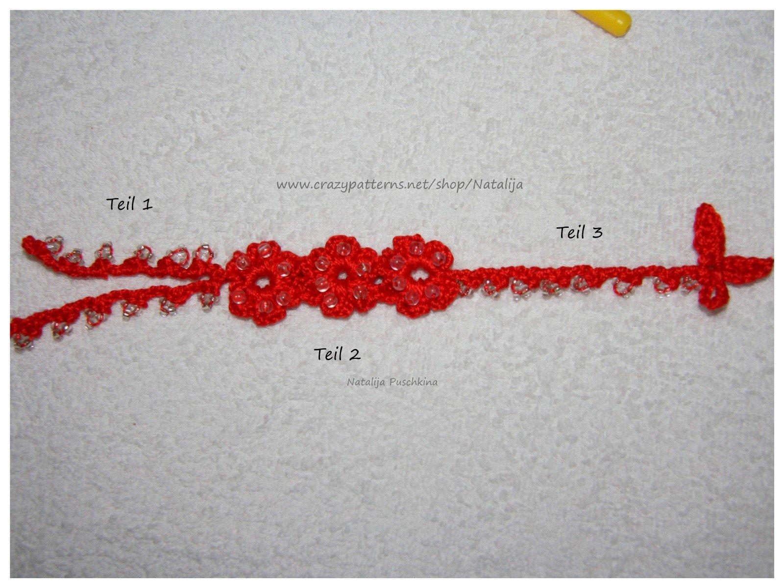Sommerlaune Armband Kostenlose Häkelanleitung