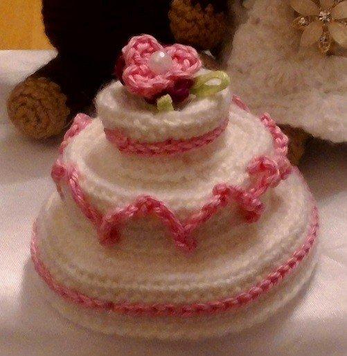 Kostenlose Hakelanleitung Hochzeitstorte Als Geldgeschenkbox