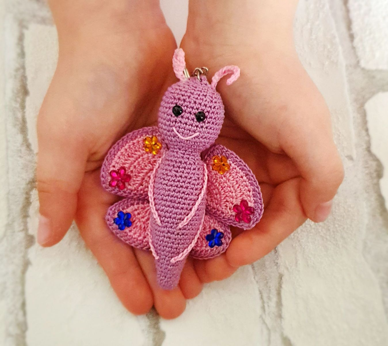 Free crochet pattern Butterfly