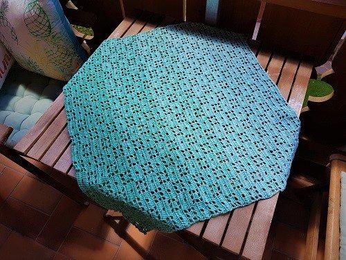Kostenlose Hakelanleitung Tischdecke Decke Sommerbrise