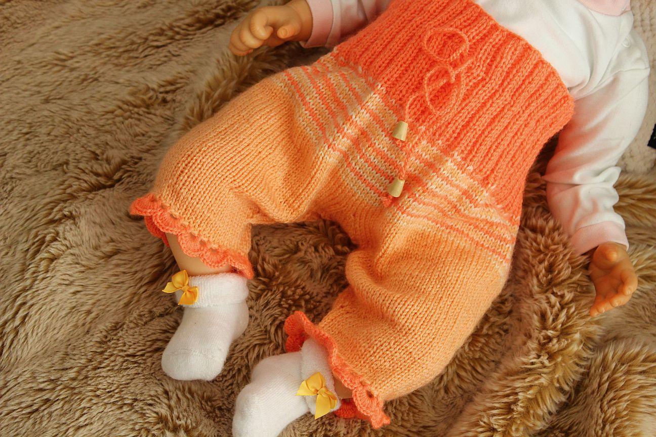 Kostenlose Strickanleitung für Babyhose