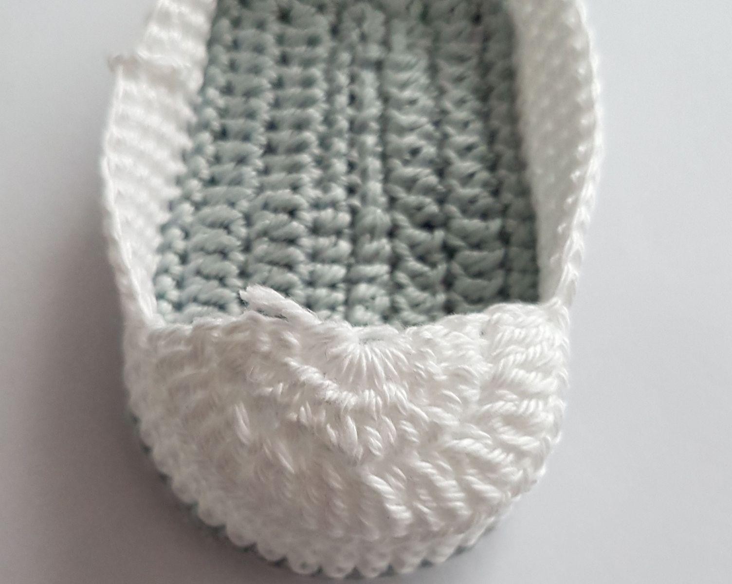 Kostenlose Häkelanleitung Neugeborene Babyschuhe für Häkelanleitung Kostenlose für Babyschuhe qARL4j53