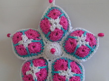 "Stern aus Granny squares ""African flower"""