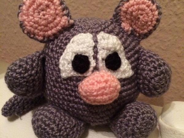 Kostenlose Häkelanleitung - Maus