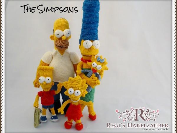 Die Simpson Familie Ist Bereit Häkel Zauber Die Simpsons 3 3