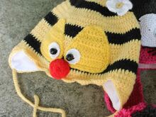 Bee Baby Hat Crochet Pattern
