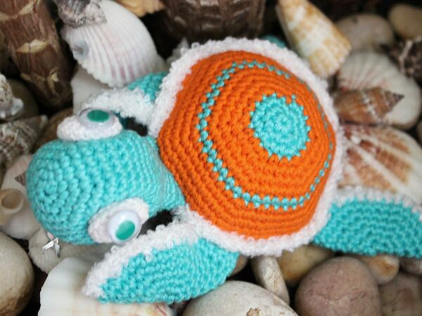 Free Crochet Pattern Tortoise