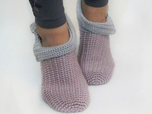 Free Crochet Pattern Slippers