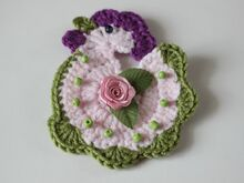 Free Crochet Pattern Applique