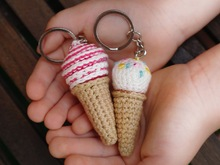 Free Crochet Pattern Ice Cream