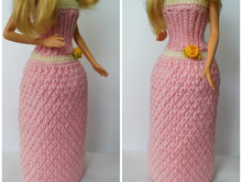 Free Crochet Pattern Doll Dress