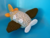 Free Crochet Pattern for Airplane