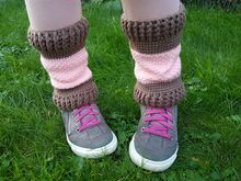 Free Crochet Pattern Leg Warmers!