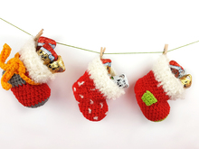 Free Crochet Pattern Christmas Stockings
