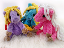 Crochet Pattern Little Horse