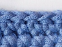 Slip stitch (US) / single crochet (UK)