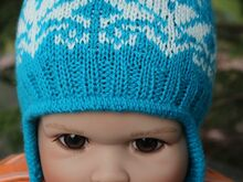 Free Knitting Pattern for Norwegian Earflap Hat