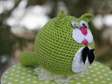 Free Crochet Pattern. Cat Rattle