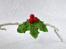 Holly - New Year Festive Brooche
