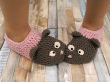 Free crochet pattern kids slippers
