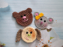 Free crochet pattern patches