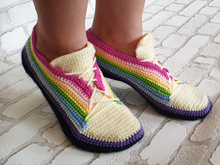Free Crochet Pattern Sneakers