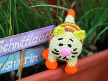 Free Crochet Pattern. Little Cat