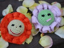Free Crochet Pattern. Flower