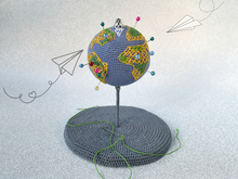 Globe Pin cushion