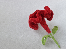 «Flower of Celosia» brooch