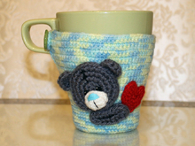 Teddy Bear Cosy for a mug