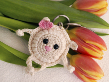 Free Crochet Pattern Keychain Sheep