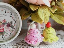 Free Crochet Pattern for Cupcake